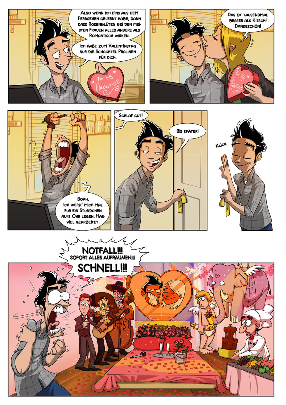 Valentinstag Schisslaweng Schisslaweng